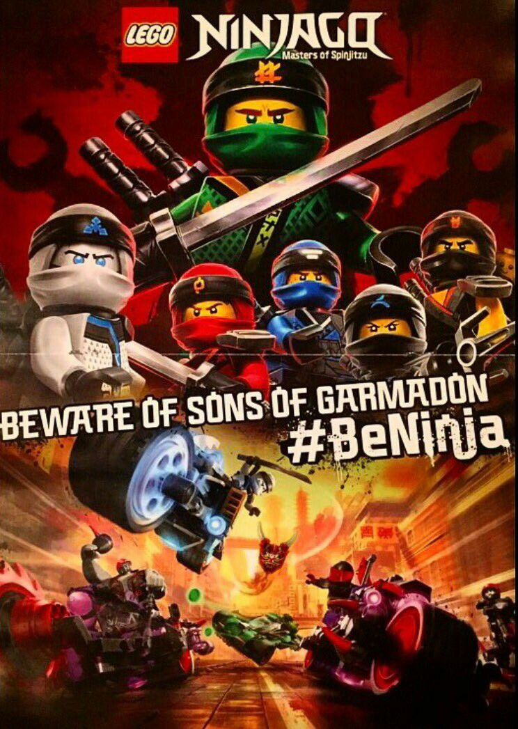 Sons Of Garmadon Poster Ninjago Beninja Season8 I M Ready