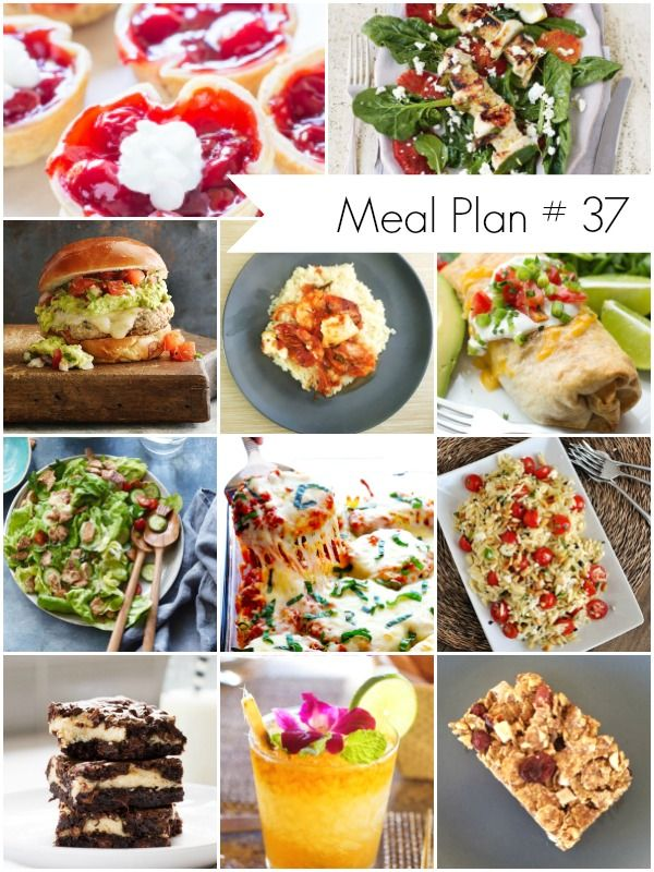 Weekly Meal Plan #37 - Delicious, family friendly recipes - Ioanna's Notebook