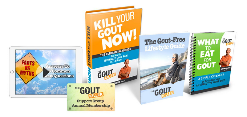 The Best Gout Treatment at The Gout Killer