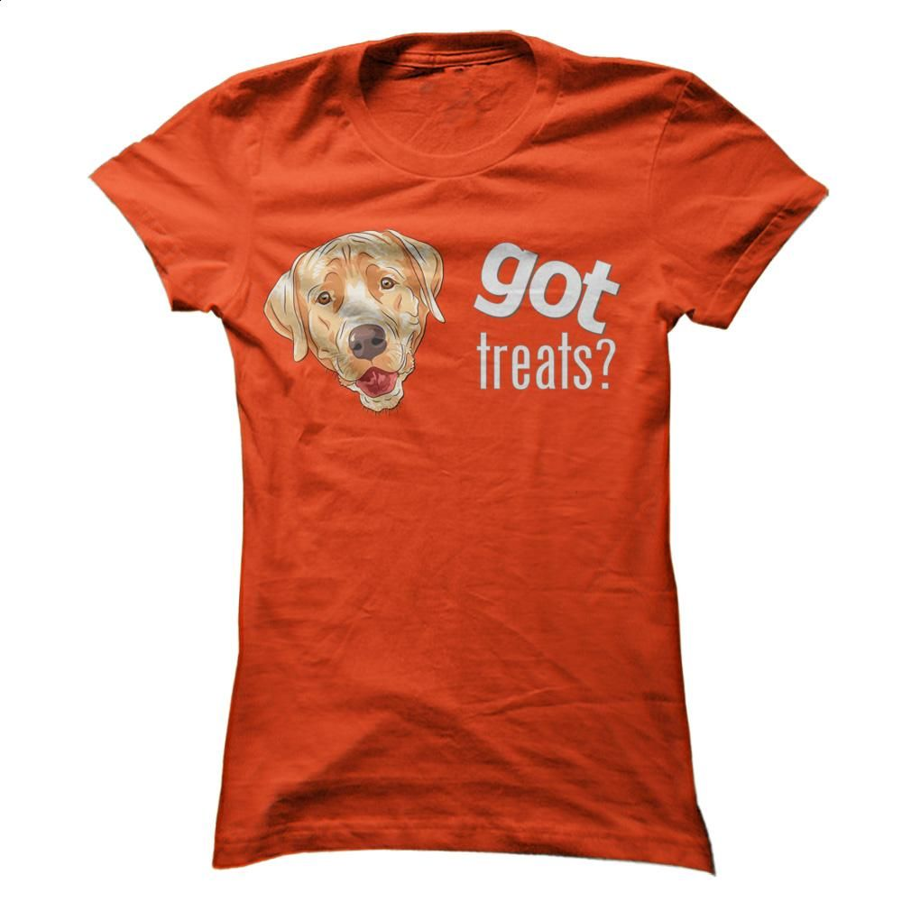 Got Treats Heads Yellow Lab T Shirts, Hoodies, Sweatshirts - #polo #cheap hoodies. ORDER NOW => https://www.sunfrog.com/Pets/Got-Treats-Heads--Yellow-Lab-Orange-0e5z-Ladies.html?id=60505