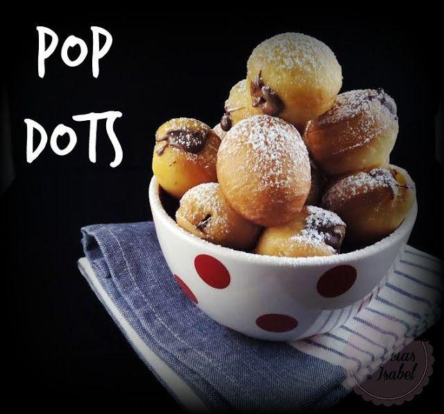 Pop Dots (agujeros de donuts rellenos)