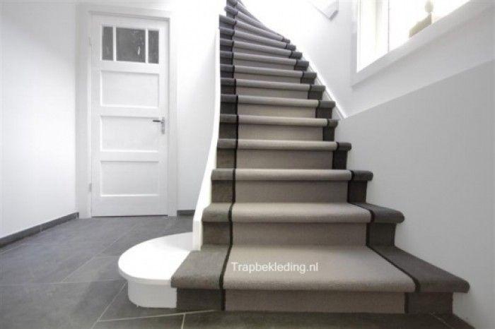 Trap Opknappen Ideeen : Sisal trap bekleding met loper effect house stairs