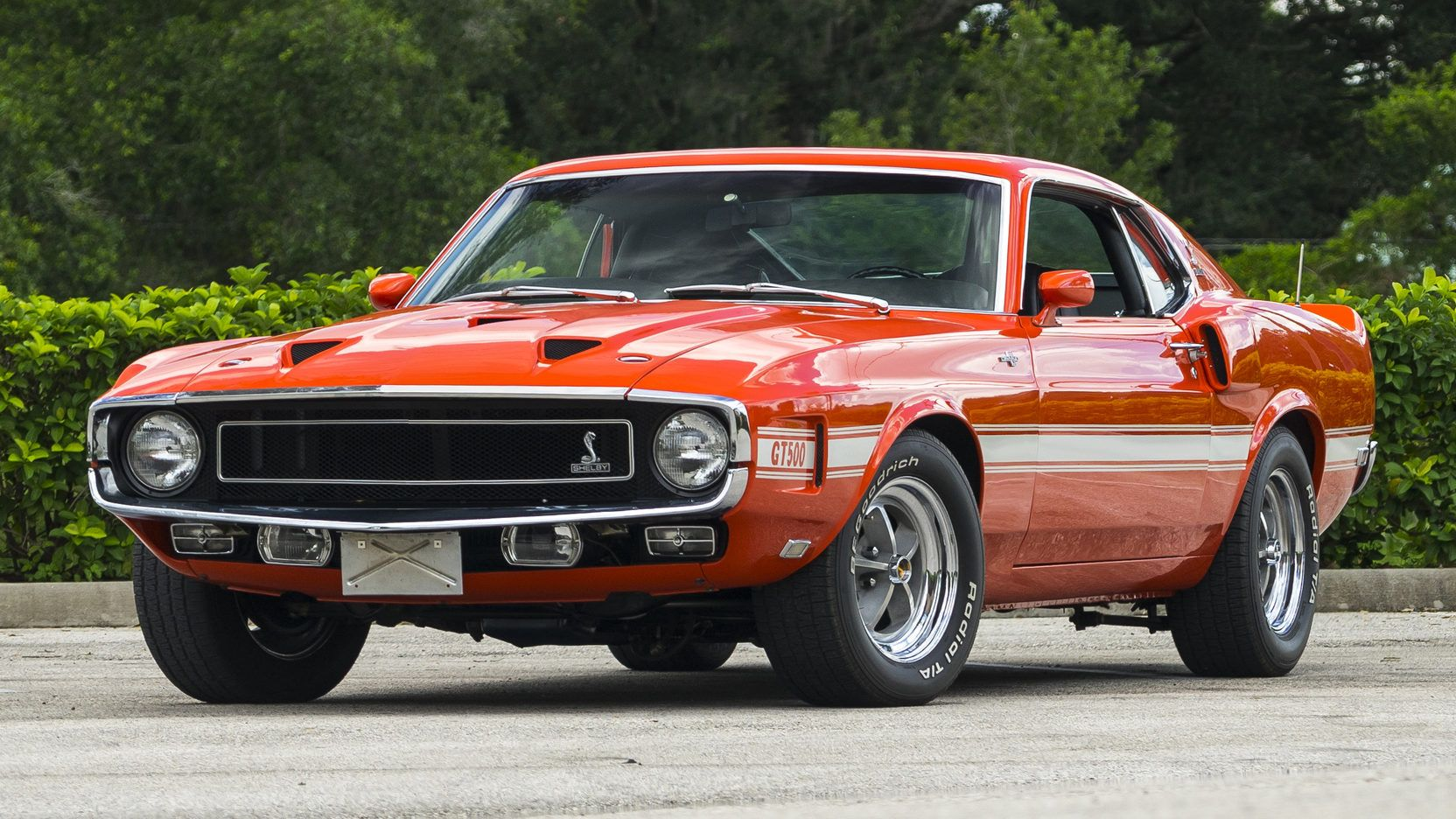 1969 shelby gt500 fastback presented as lot f111 at dallas tx