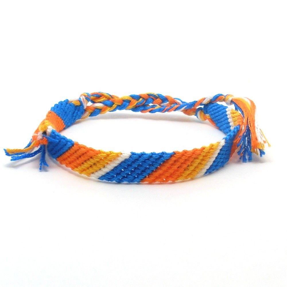 Orange Crush Summer Bracelets At Jaycimay Com Wide Braided Summer