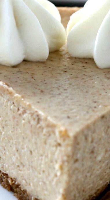 Cinnamon Apple Butter Cheesecake