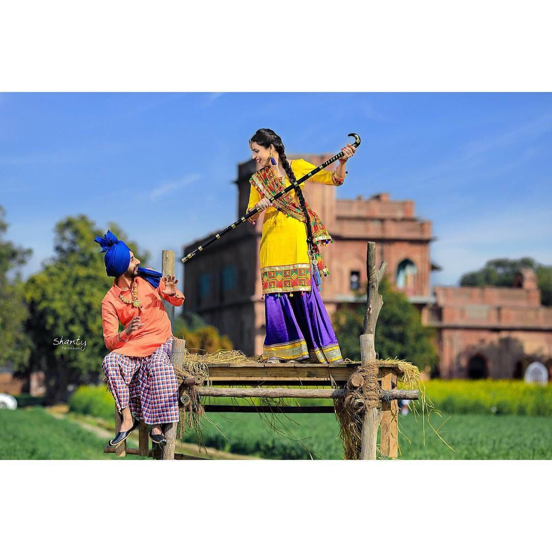 Pin by Guri_Malhi on ᴄᴏᴜᴘʟᴇ Punjabi couple, Romantic