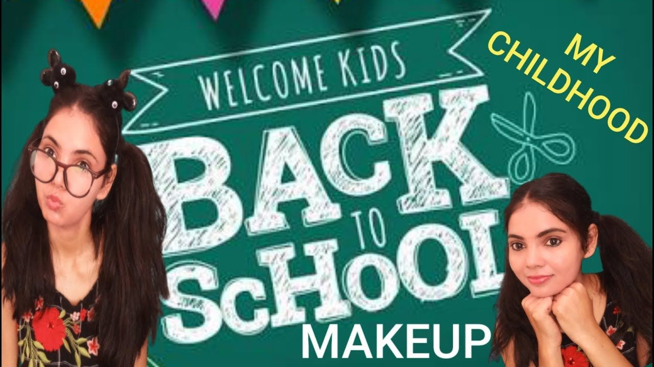 My School Journey BACK TO SCHOOL MAKEUP School Makeup