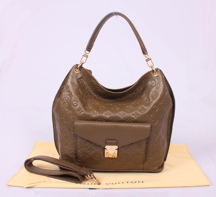 Louis Vuitton Metis Monogram Empreinte Bag Khaki 360 00 Louis