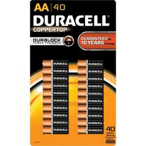 Google Express Duracell Coppertop Aa Battery 40 Count Costco Business Costco Shopping Costco