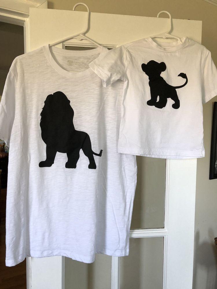 11d53196 Lion Shirt Ideas - Lion T Shirts For Sales #lionshirts #lionttshirts #lion  Matching Dad and Son Lion King Shirts Disney Shirts Mufasa Simba - $10.00  End ...