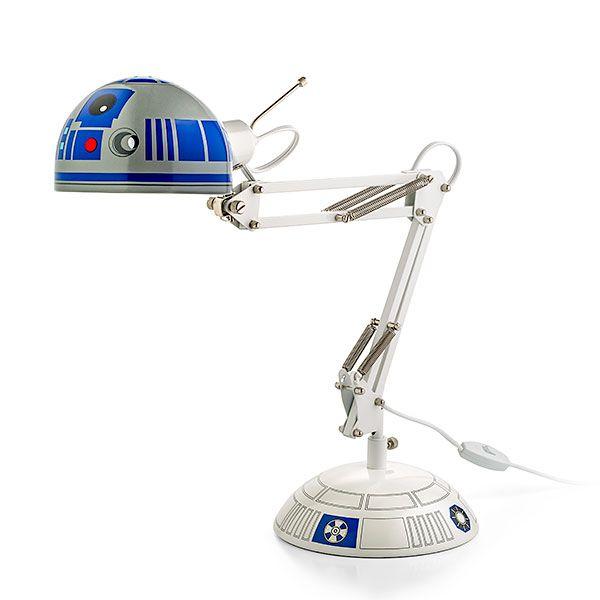 Star Wars R2 D2 Architectural Desk Lamp | Star wars lamp