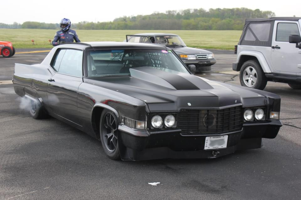 Turbo-Charged (500 CID Caddy Engine!)1970 Cadillac Coupe Deville Set