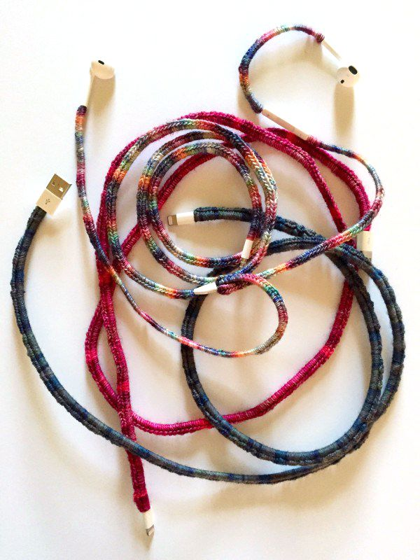 crocheted cord covers