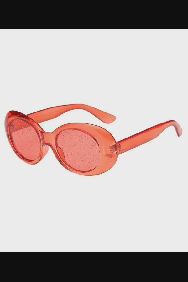 $8.06 - Sequins Sunglasses - Women Man Retro Vinta