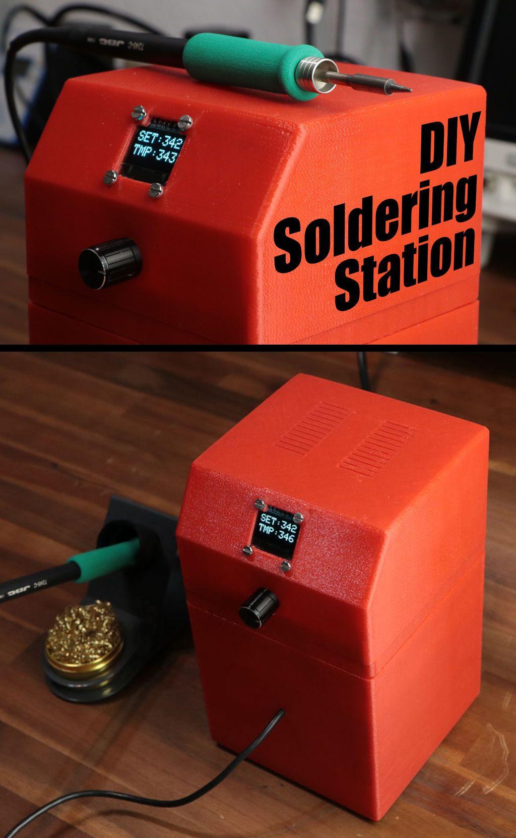 Diy arduino soldering station soldering iron arduino and iron diy arduino soldering station solutioingenieria Images