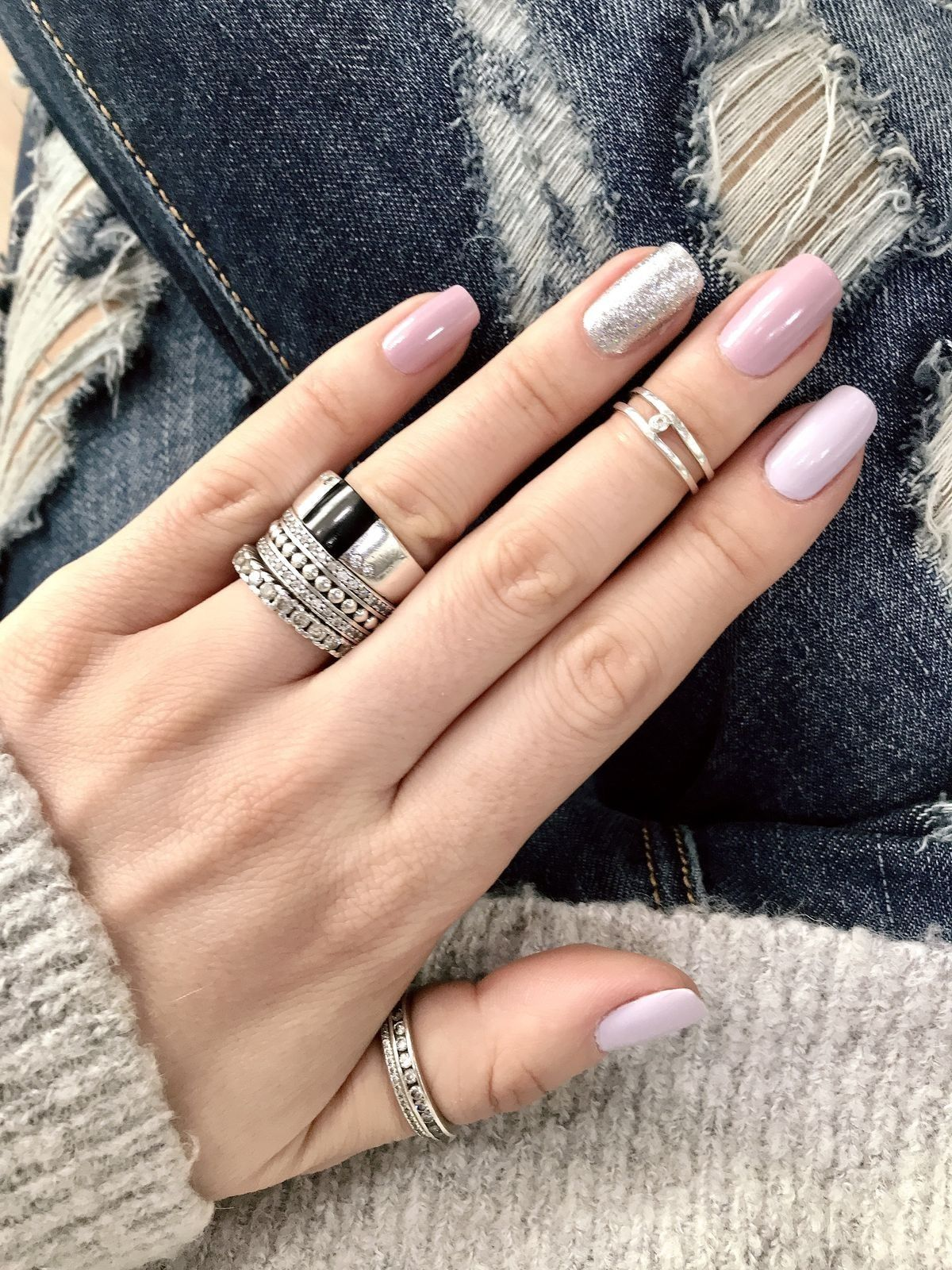 Sencillas Pero Elegantes Nails En 2019 Pinterest Nails Nail