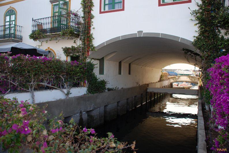 Canal del Puerto de Mogán. Gran Canaria