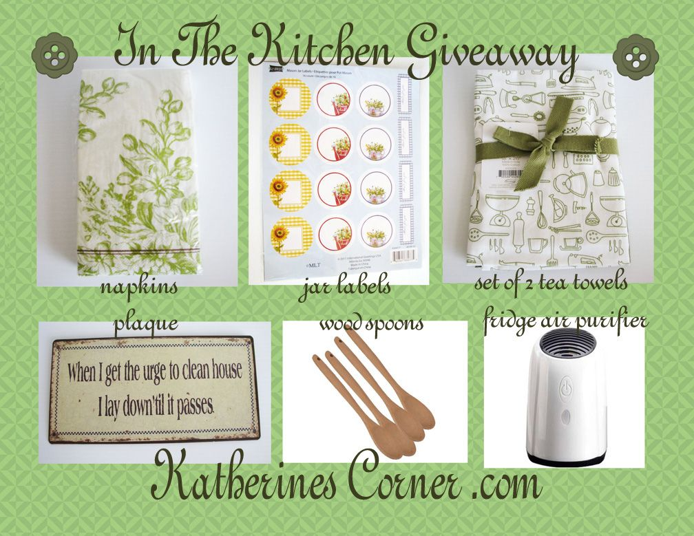 In The Kitchen Giveaway Katherines corner, Giveaway, Jar