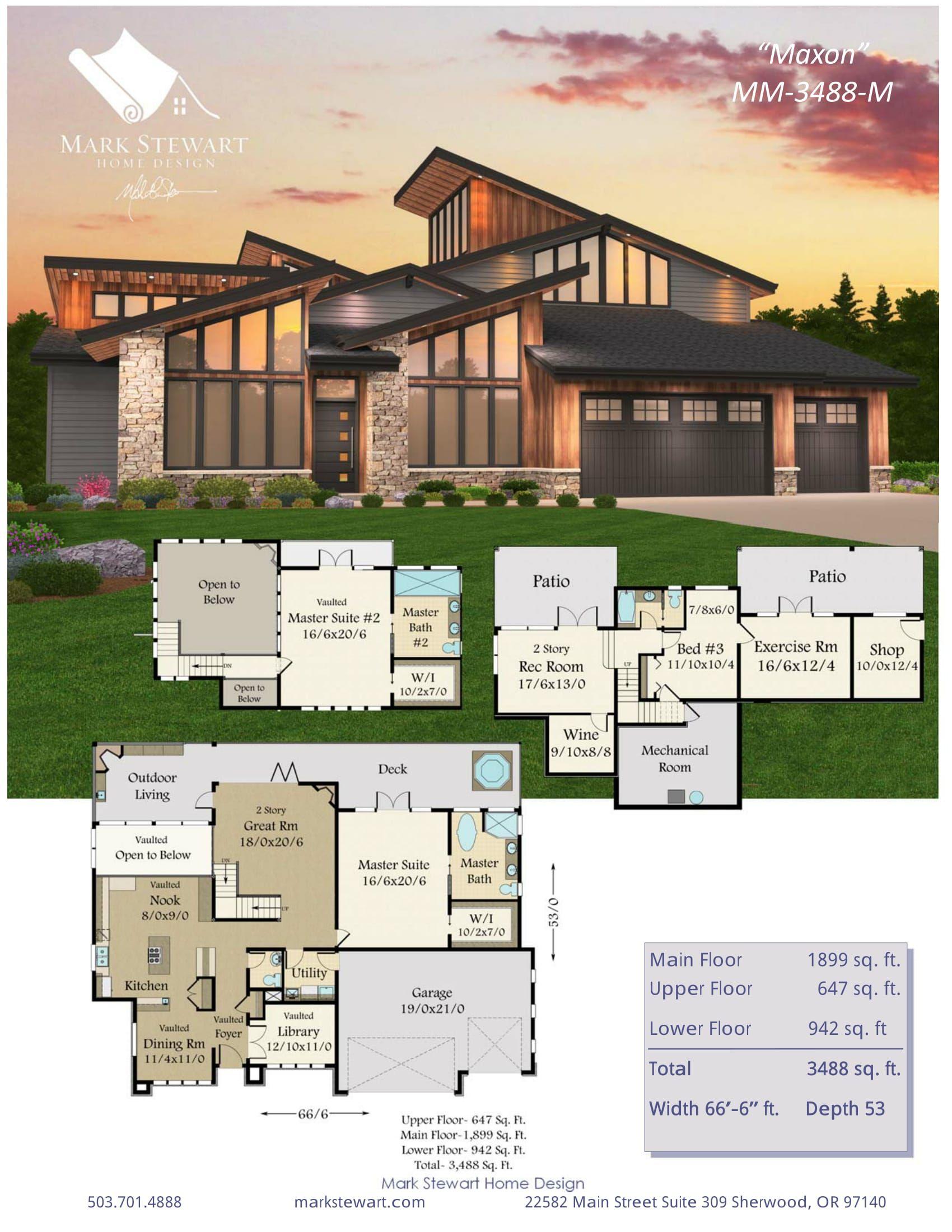 Maxon by mark stewart home design