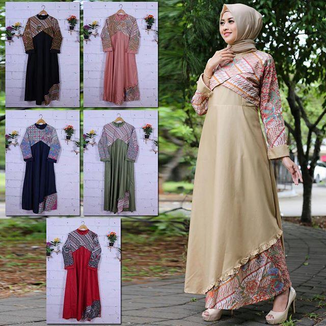 Model Gamis Overall Remaja Gambar Hijab