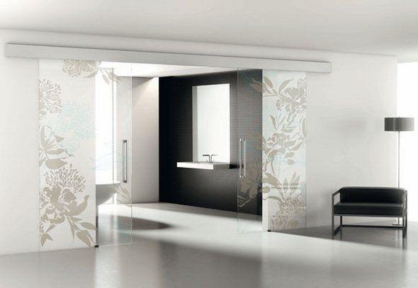 Porte scorrevoli in vetro | ZEN/PURIST/MODERN/Interiors/Architecture ...