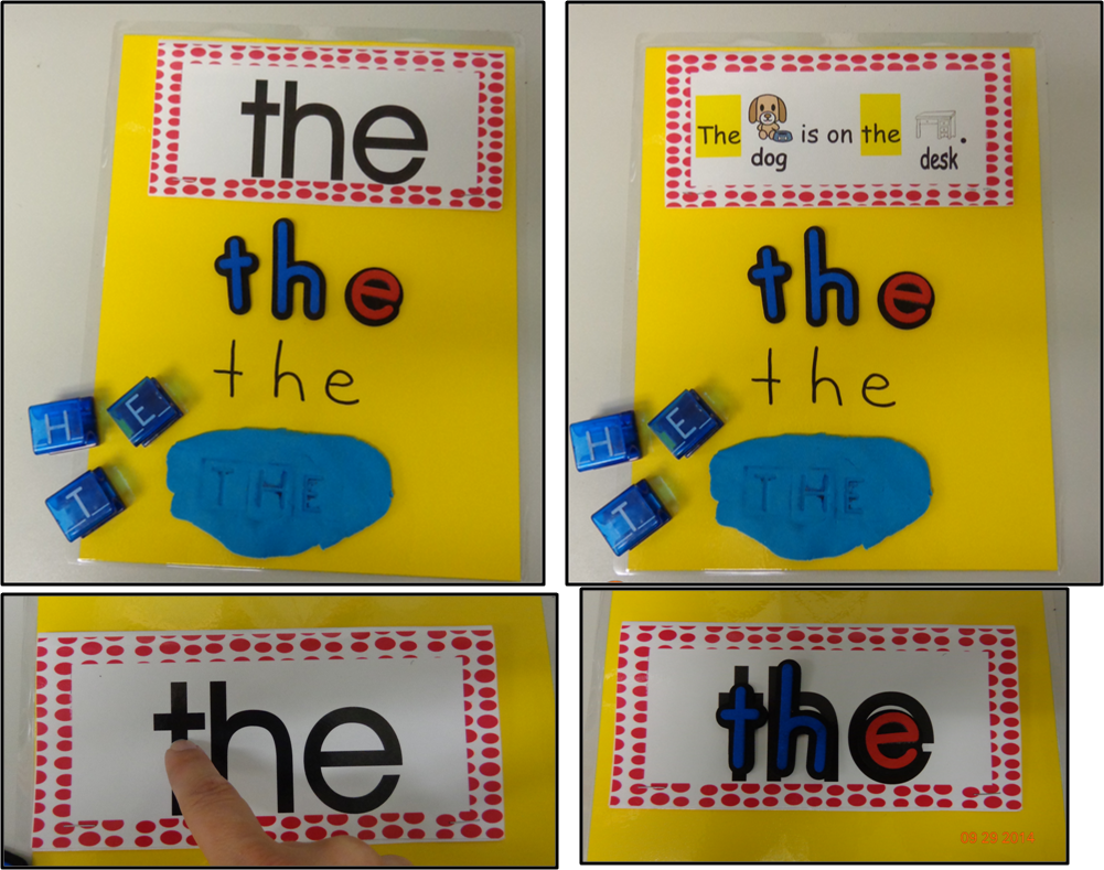 Blog post with sight word ideas and FREE word wall cards ...