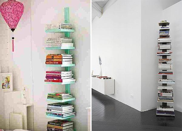 Libreria fai da te facili idee originali da realizzare legno