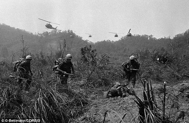 Band of brothers for 70 years heroic 101st airborne division cut above paratroopers of the us 101st airborne division pictured in vietnam sciox Choice Image