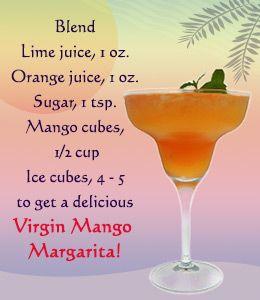 margarita recipes for virgin