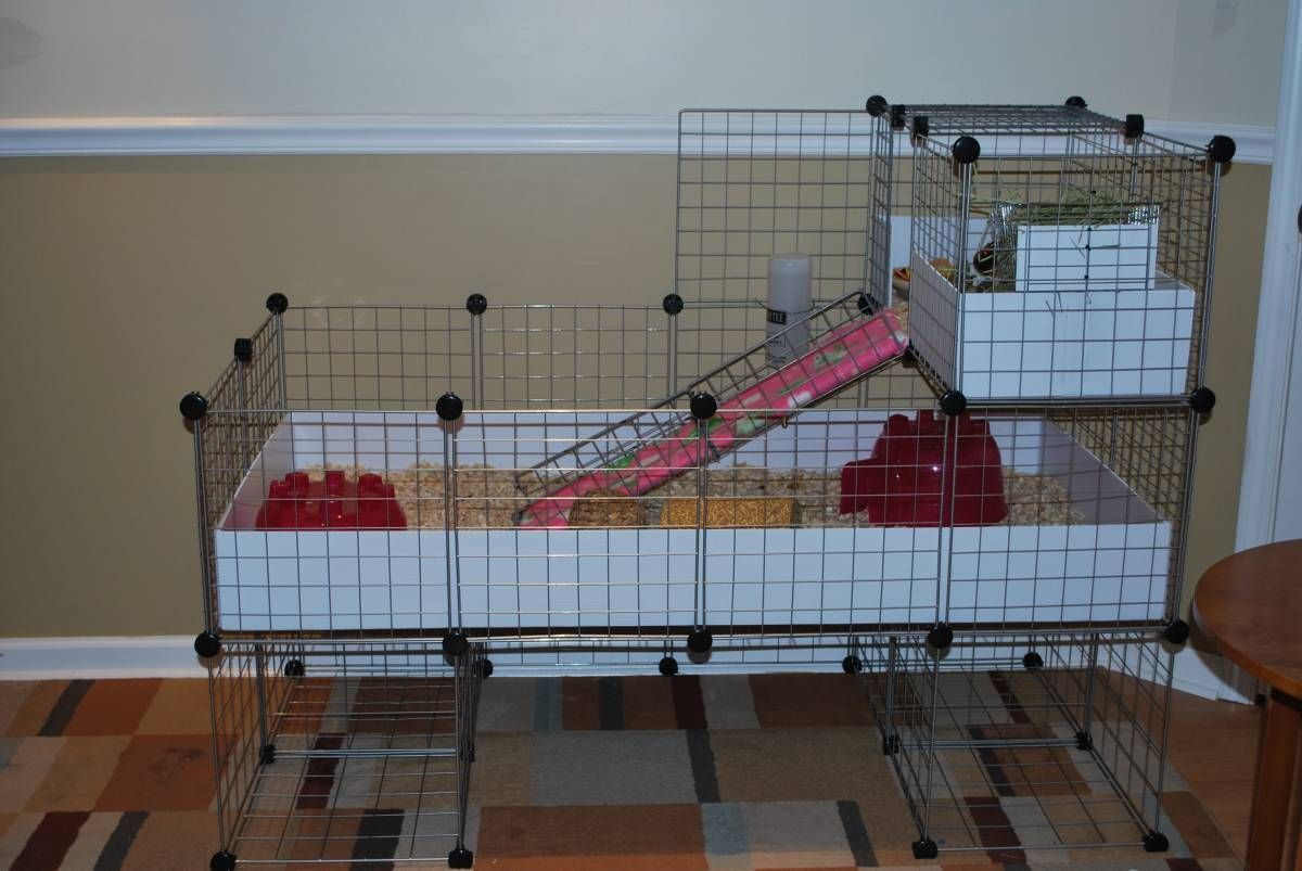 how to make a trailer cage
