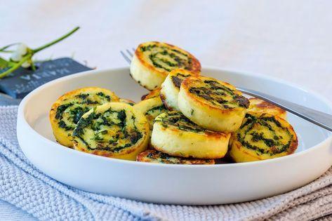 Sommerküche Wildeisen : Kartoffel spinat rolle recipe essen by maika hempfe pinterest