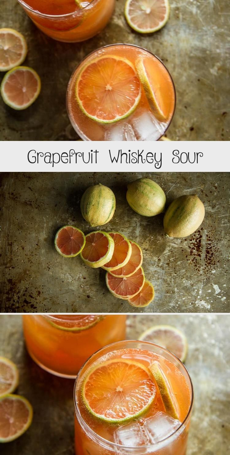 Photo of Grapefruit Whiskey Sour | Citrus Drinks | Cocktail Recipes | Fresh Cocktail #Peo…