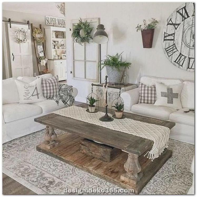 Kreative und Großartige moderne Wohnzimmerdekoration und elegantes Landhaus Ideen und Verjüng... #modernfarmhouselivingroom