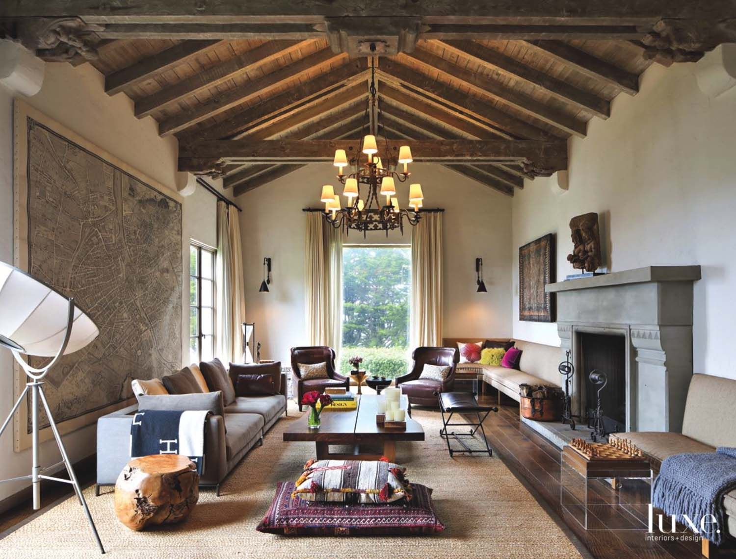 Gorgeous Spanish Colonial Style Renovation In San Francisco Home Interior Design Spanish