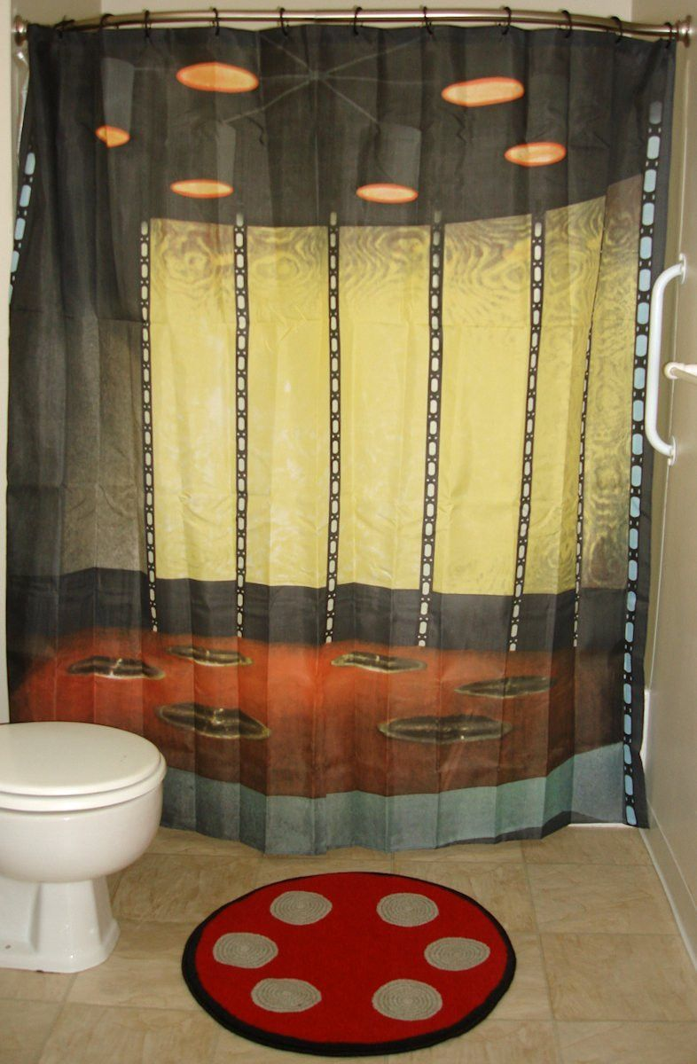 Images Of Star Trek Transporter Shower Curtain Star Trek