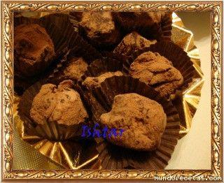 TRUFAS DE CHOCOLATE Y CAFE