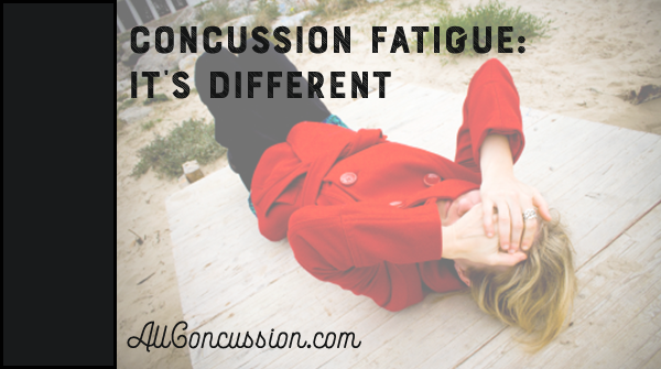 Concussion Fatigue It's Different (With images