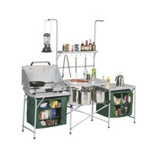 Camping Kitchen Table Cooking Stove Pantries Portable Lightweight Outdoor Hiking Camper Kitchen Camp Kitchen Camping Sale