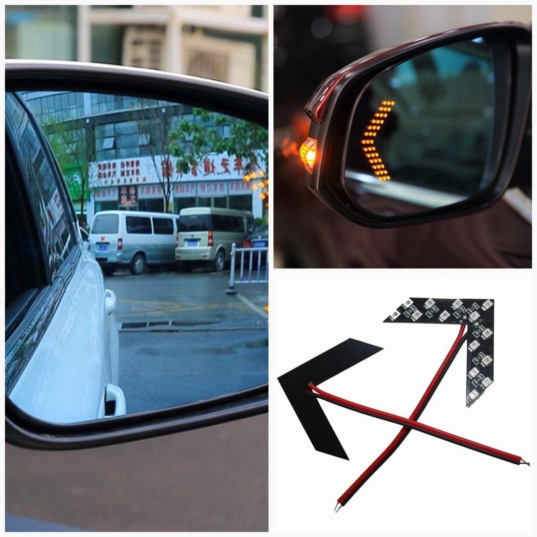 Led Arrow Panel For Car Rear View Mirror Car Rear View Mirror Rear View Mirror Mirror With Lights