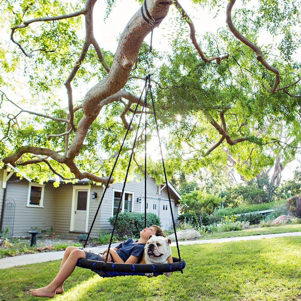 Tree Swings Galaxy Glider Tree Swing With Atomic 360ao Swivel Rotator Hook And