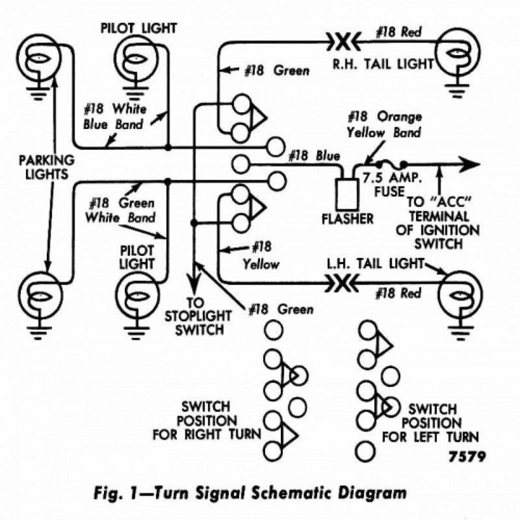 Turn signal wiring schematic diagram wiring diagram wiring rh pinterest 2858 turn signal switch diagram