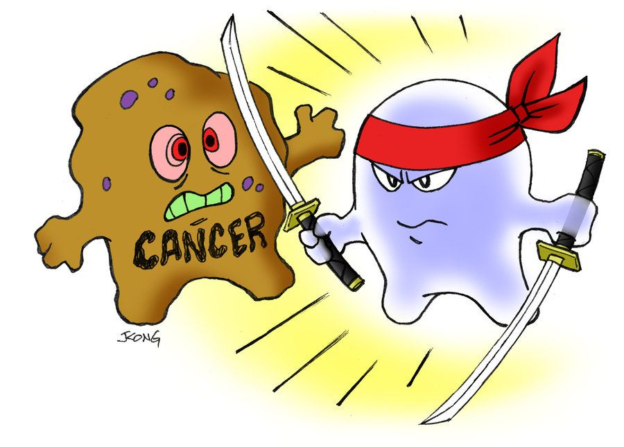 cartoon cancer cell - Google Search | Cancer Beating Tattoo Ideas ...