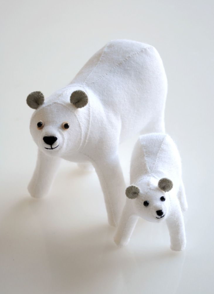 Sunfelt Handicraft felt animal kits.