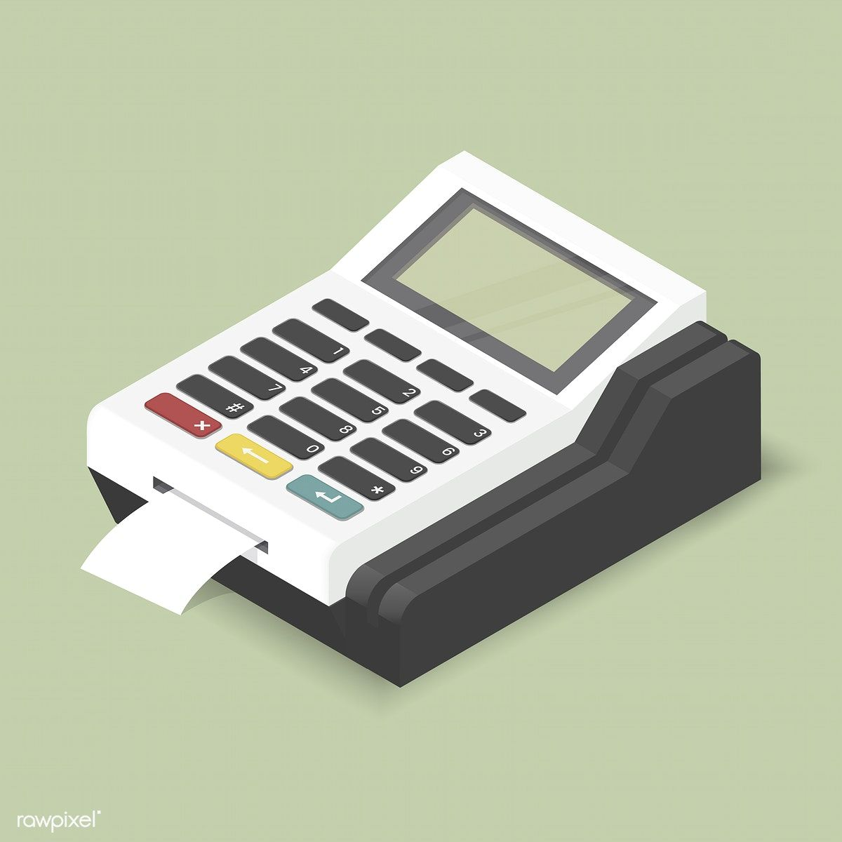 Vector image of calculator icon free image by rawpixel