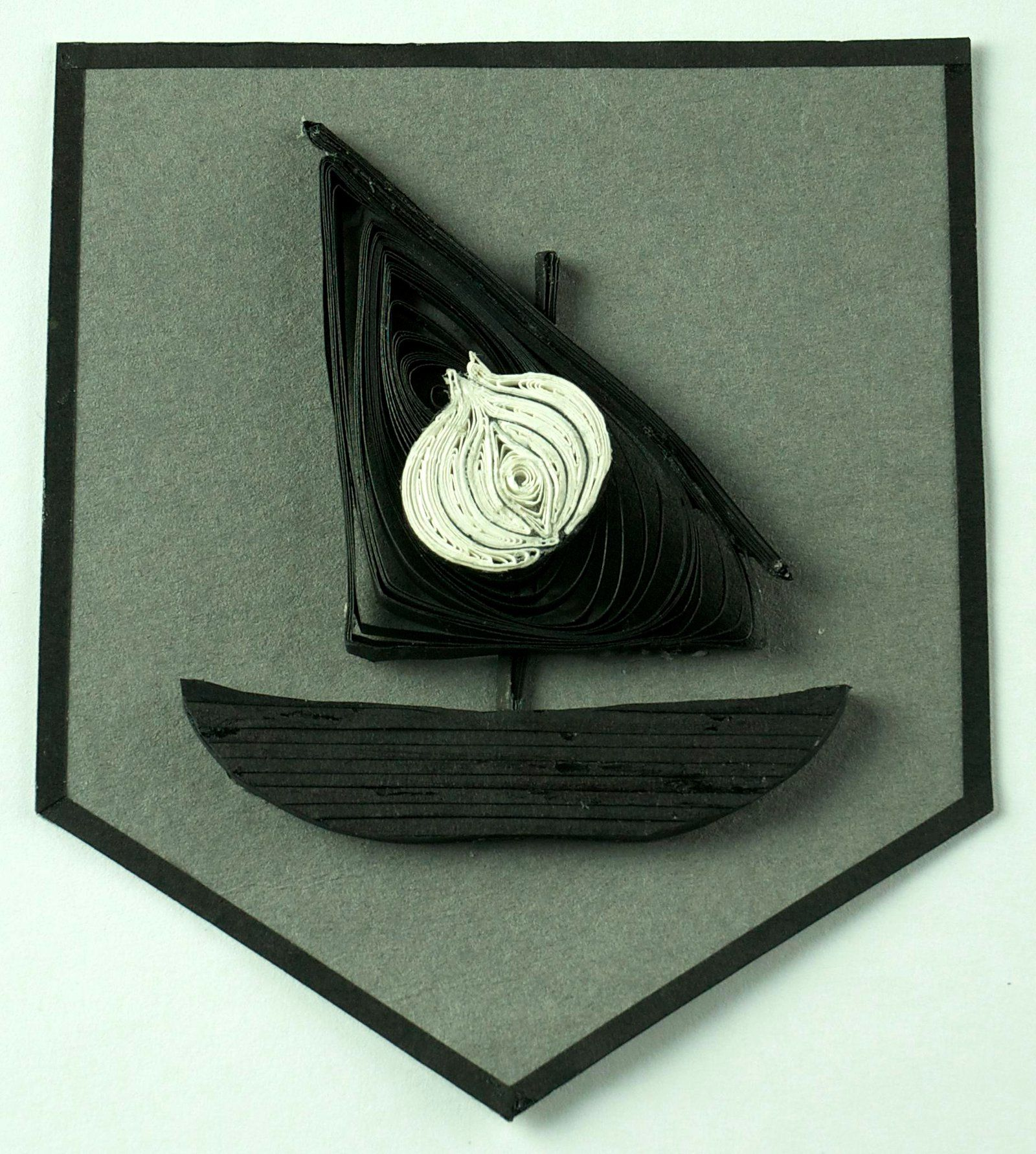 Game Of Thrones Quilling Sigil House Seaworth By