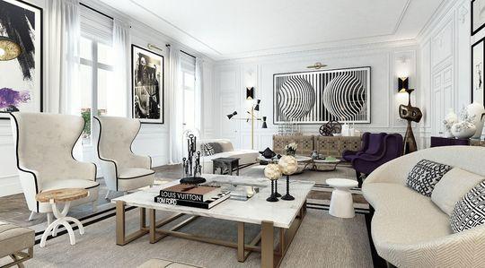 Déco Salon Moderne : Les Plus Beaux De La Planète