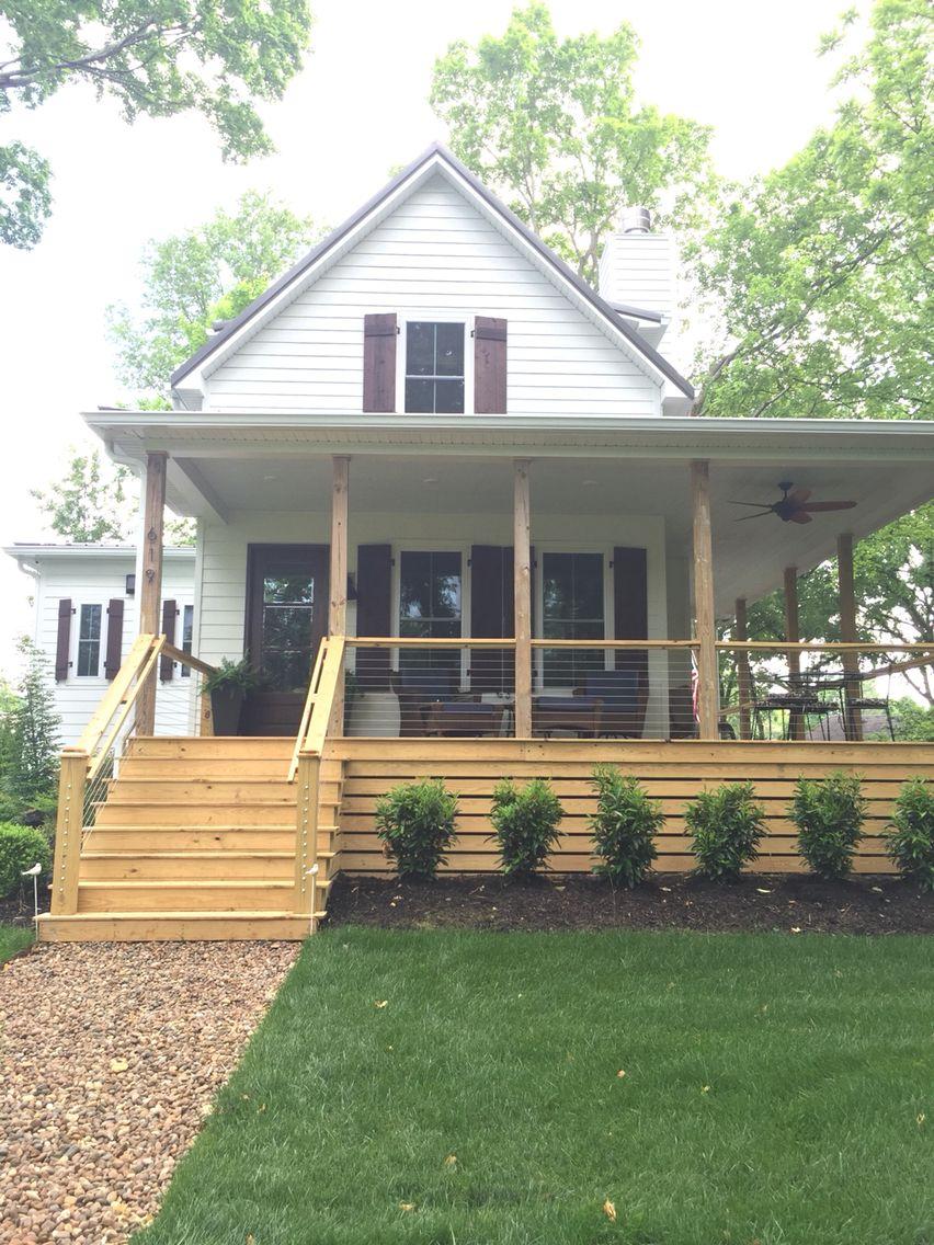 Exterior Of Mudroom Addition In Portland Oregon I Love The Porch: Deck Skirting, Building A Porch, Porch Design