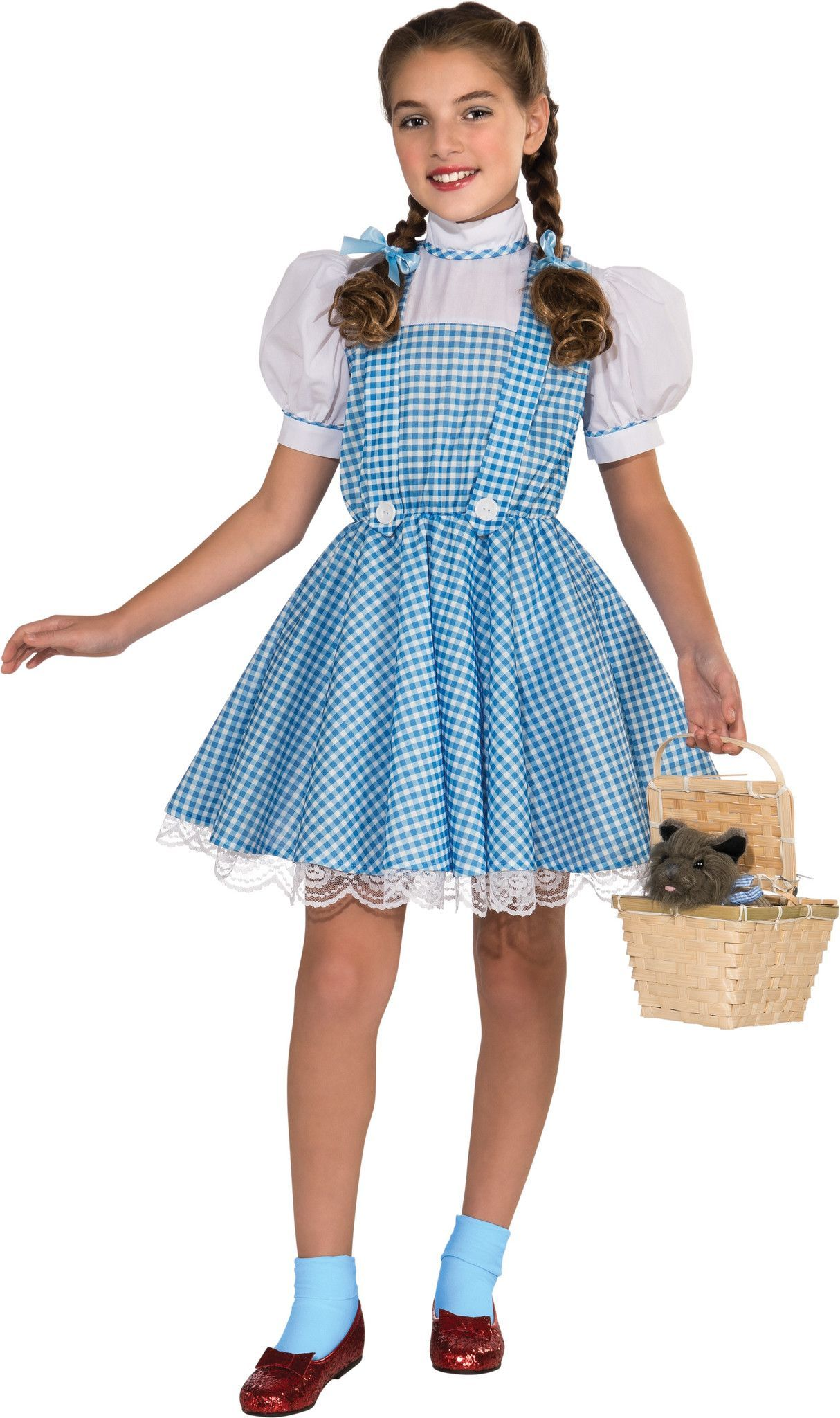 wizard of oz glitter dorthy girl halloween costume at kmart