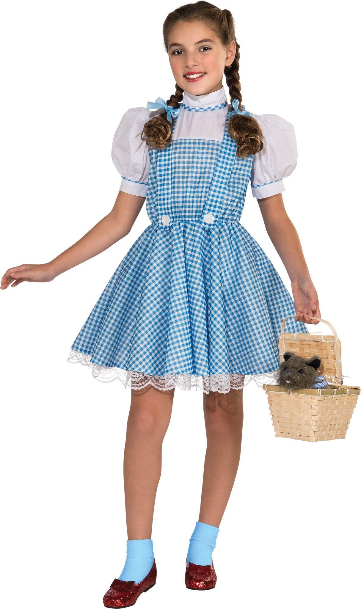 Classic Dorothy Girl S Costume Girls Dorothy Costume Dorothy Costume Wizard Of Oz Dorothy Costume