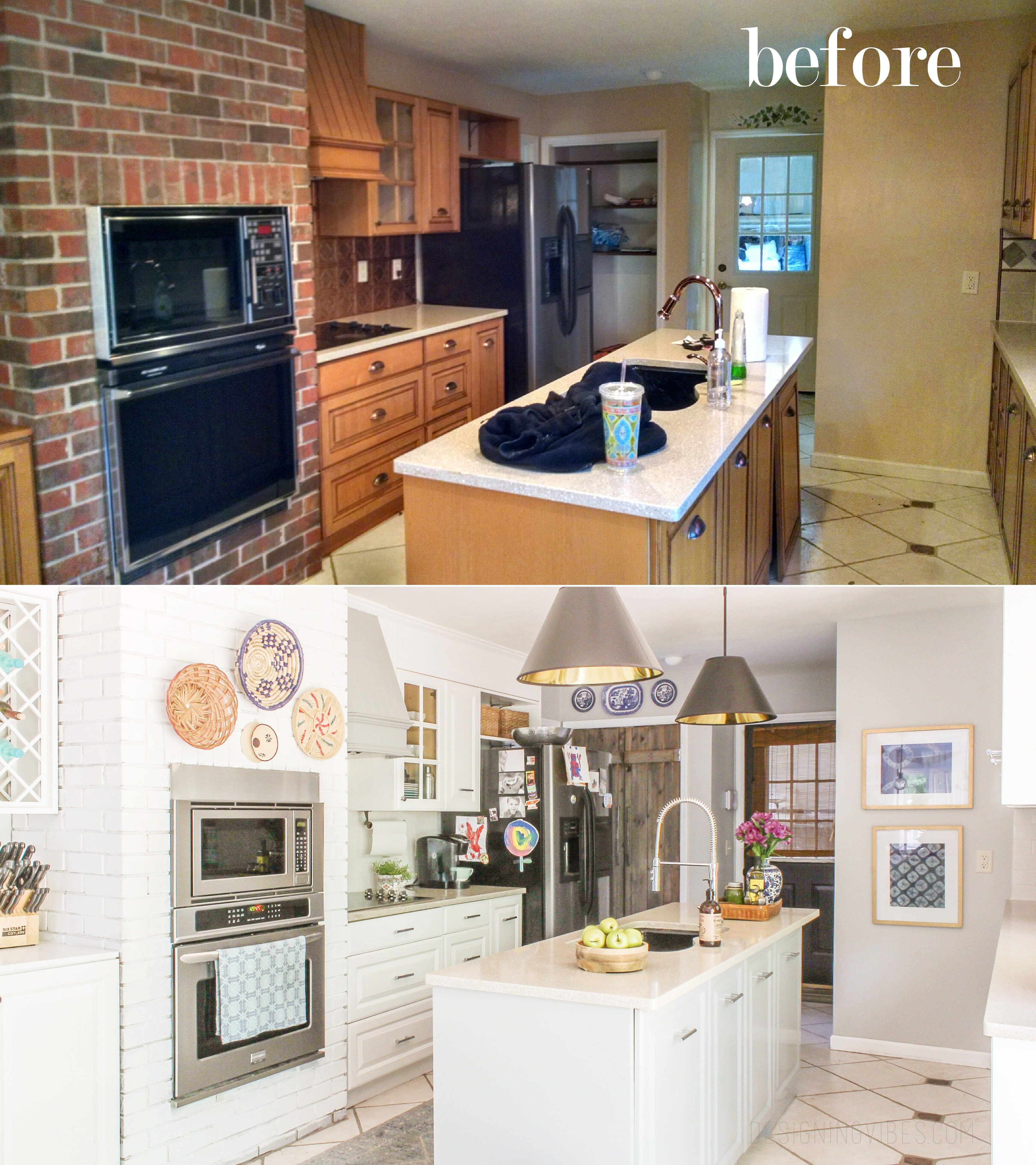 How I Renovated My 1980's Kitchen On A Crazy Low Budget